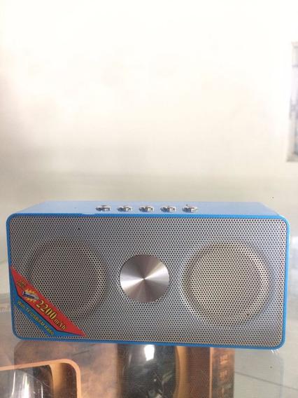 Caixa De Som Speaker Com Bluetooth