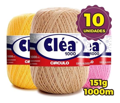 Linha Cléa 1000m Círculo -  Kit 10 Unidades ** Promoção