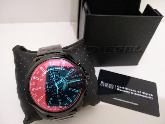Relógio Diesel Mega Chief Dz4318 Camaleão Original