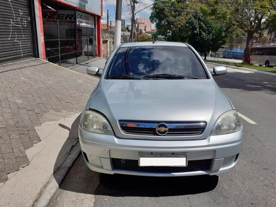 Chevrolet Corsa Sedan Premium 1.4 Flex Completo 2008 Prata