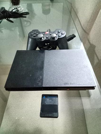 Playstation 2 Desbloqueado + 5 Jogos Frete Grátis P/todo Br