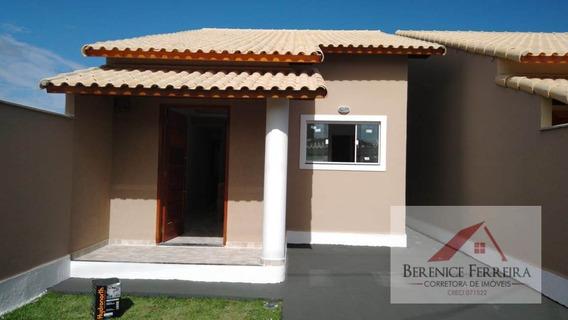 Casa À Venda No Bairro Itaipuaçu Em Maricá/rj - 124