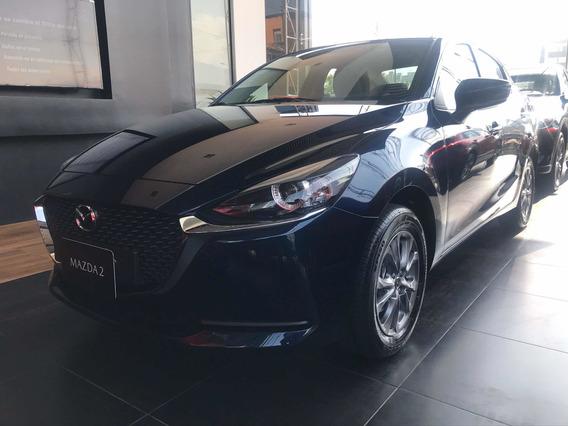 Mazda 2 Touring Automático Azul 2021