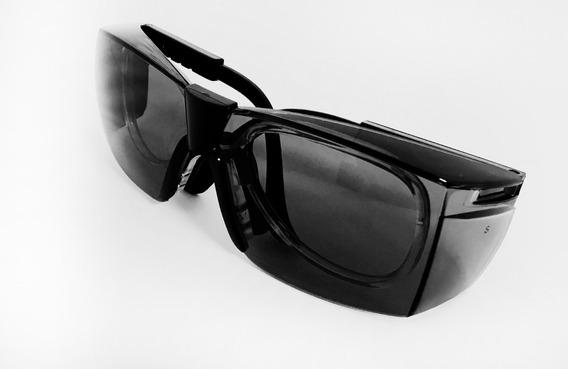 Armacao Oculos Seguranca Lentes De Policarbonato Fume