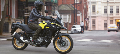 V-strom 650 Xt Abs - Champion Yellow No.2 (yu1)