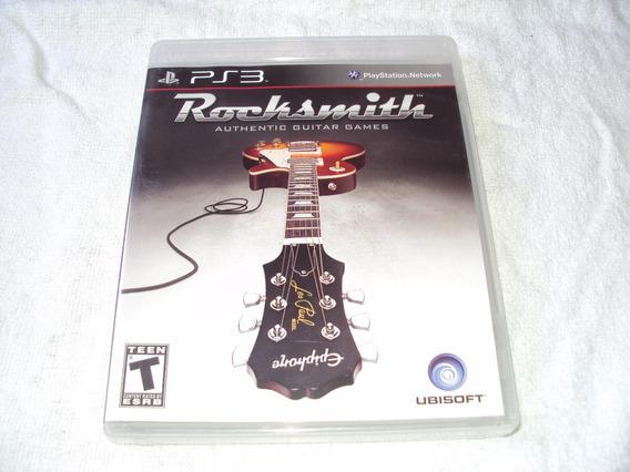 Rocksmith Original Completo Playstation 3 - Sem O Cabo