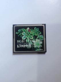 Cartão Memória 8gb Compact Flash Kingston Cf
