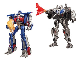 Optimus Prime 2 Pack Mission To Cybertron Last Knight Hasbro