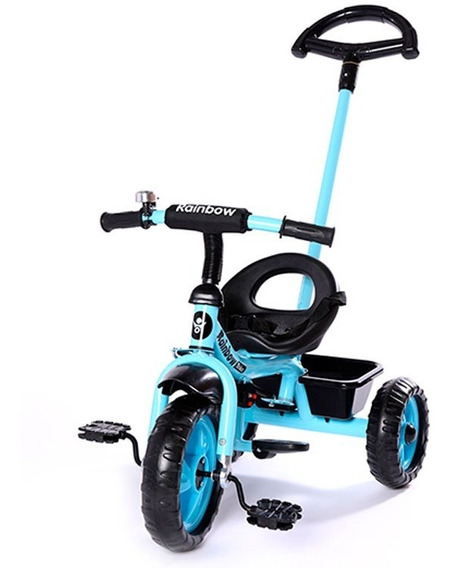 Triciclo Rainbow Bankshee Md 6439 Azul E.full