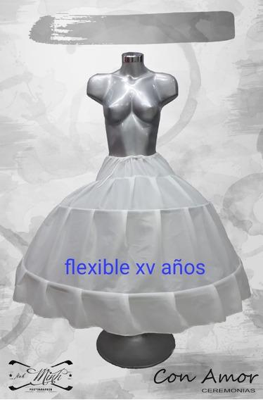 Crinolina Flexible Para Vestido De Xv Años