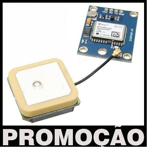 5 X Módulos Gps Ublox/u-blox Neo-6m Antena Apm Arduino