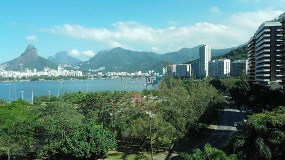 Apartamento 2 Quartos Com Vista Para A Lagoa. - 19245