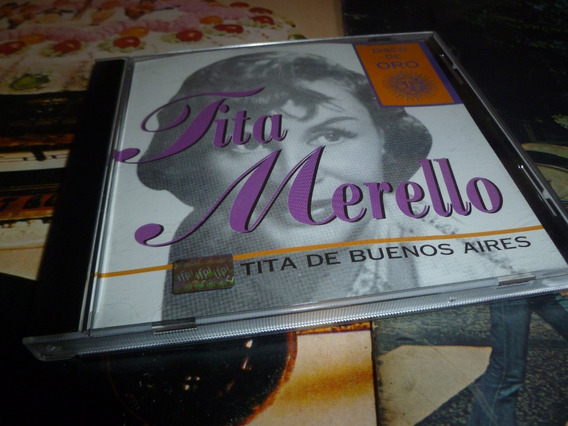 Tita Merello - Tita De Buenos Aires - Cd - Disco De Oro -