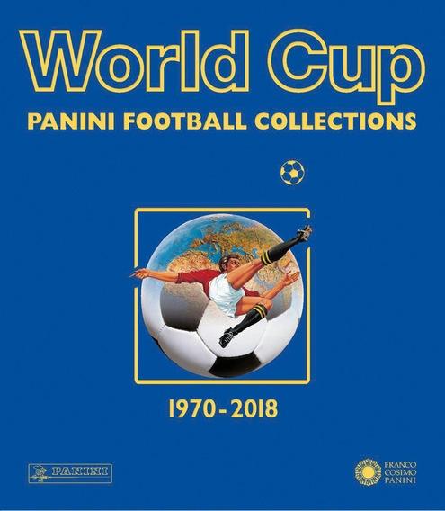 Livro Impresso World Cup Panini Albuns Copa 1970 2018 Luxo