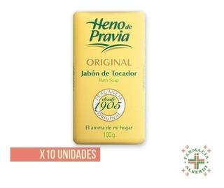 Heno De Pravia Jabon 100gr X 10 Unidades - El De Siempre!