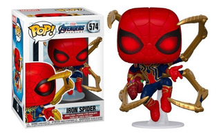 Funko Pop Spiderman Iron Spider Endgame 574 - Giro Didáctico