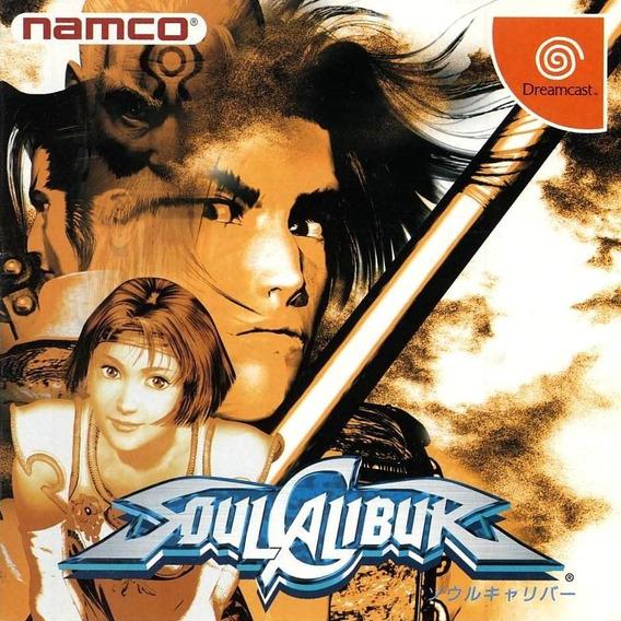 Soul Calibur Dreamcast Original Usado - Japonês Completo E T