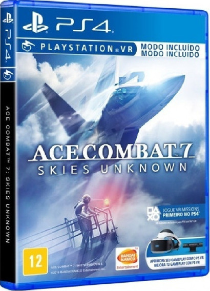 Ace Combat 7 Ps4 Mídia Física Novo Pronta Entrega Original
