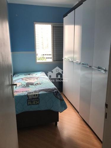 Imagem 1 de 23 de Apartamento 64m² 3 Dorms. 1 Vaga De Garagem No Bairro Baeta Neves-sbc - Apa310