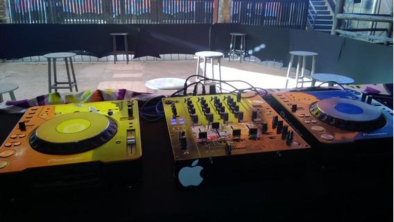 Mixer Pionner Djm 800 E Cdj