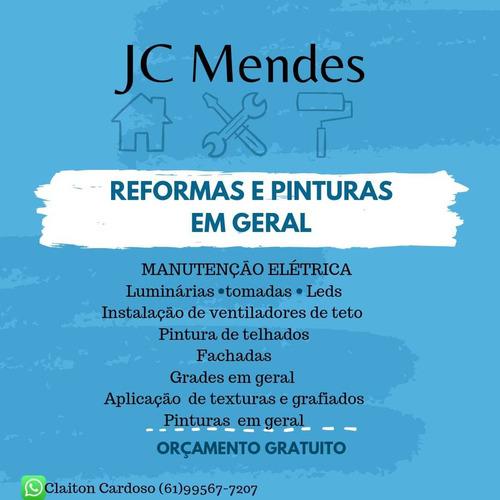 Imagem 1 de 1 de Reformas, Eletrecista E Pintor.