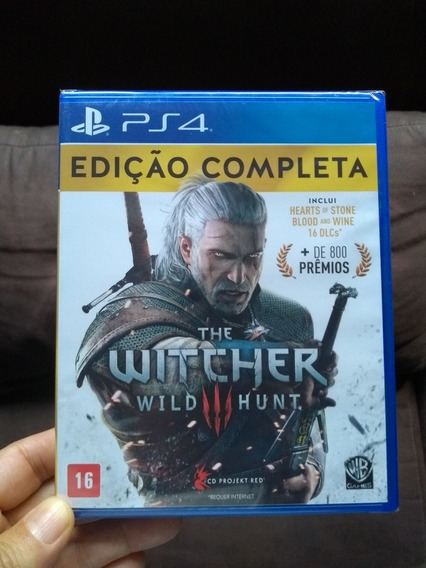 The Witcher 3 Complete Edition Ps4 Mídia Física Lacrado