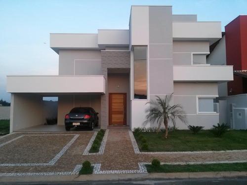 Casa Com 3 Dormitórios À Venda, 309 M² Por R$ 1.550.000,00 - Parque Brasil 500 - Paulínia/sp - Ca2563