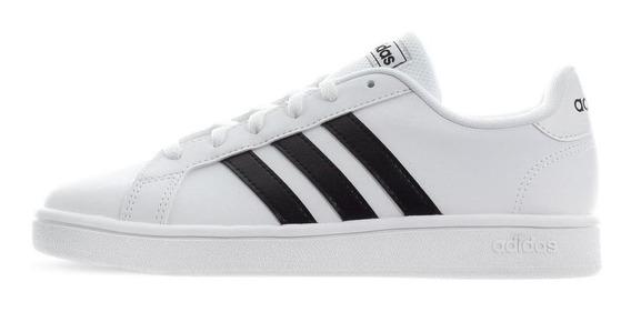 Tenis adidas Grand Court Base - Ee7968 - Blanco - Mujer