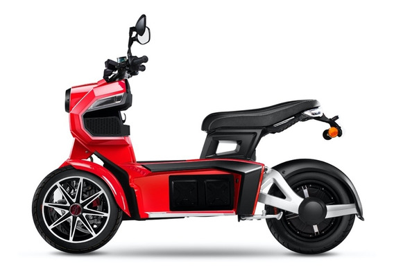 Moto Electrica Todoterreno Itank Evi3 70 De Doohan (roja)