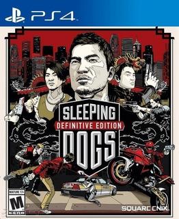 Sleeping Dogs Definitive Edition ~ Ps4 Digital Español