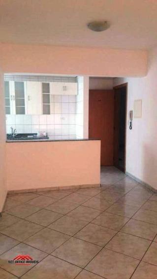 Apartamento Com 1 Dormitório Para Alugar, 48 M² Por R$ 1.000,00/mês - Vila Adyana - São José Dos Campos/sp - Ap0385