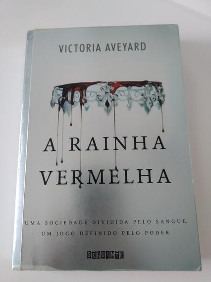 Livro A Rainha Vermelha- Victoria Aveyard