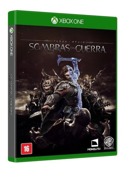 Sombras Da Guerra Xbox One Mídia Física Português