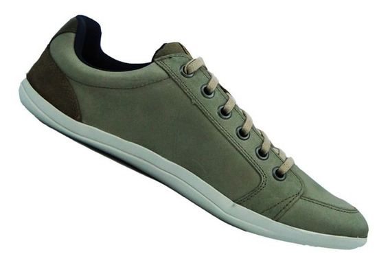 Sapatênis Masc. Couro Fork Footwear Zara Cinza 21234-8