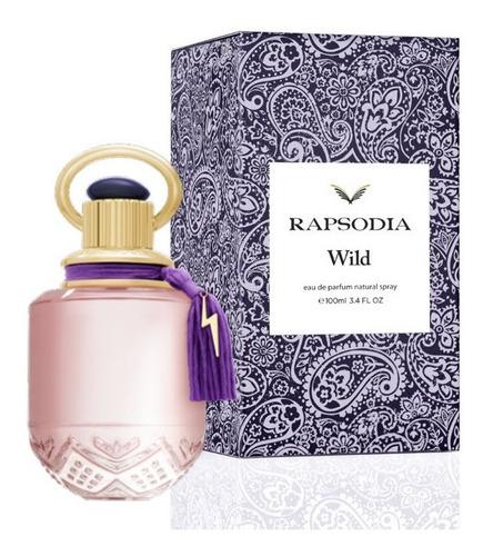 Imagen 1 de 5 de Perfume Mujer Rapsodia Wild Eau De Parfum 100ml