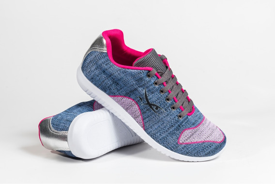 Tênis Feminino Esportivo Malha Respirável Caminhada Verão