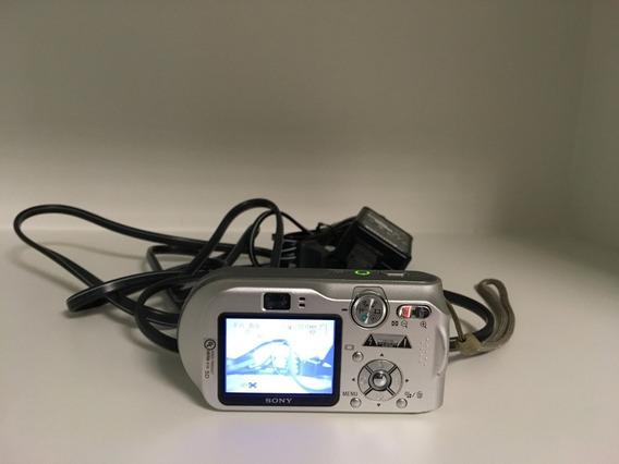 Camera Digital 7.2 Mp Sony Cyber-shot Dsc-p200 C 1gb Memory