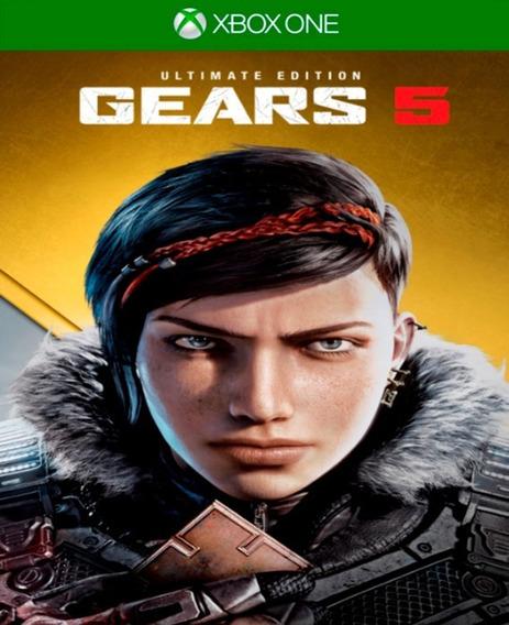 Gears 5 Ultimate Edition - Xbox One - Midia Digital Online E Offline + 1 Jogo