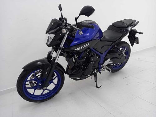 Yamaha Mt-03 Abs 2020 Azul 12000km