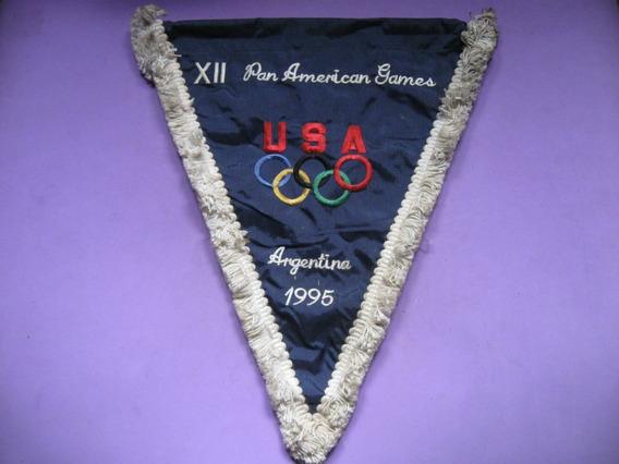 Banderin Juegos Panamericanos 1995, Delegacion Usa