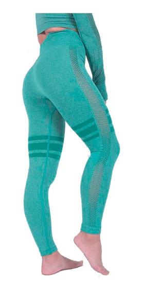 Conjunto Mujer Legging Y Top Gym Yoga Fitnes Ejercicio Promo