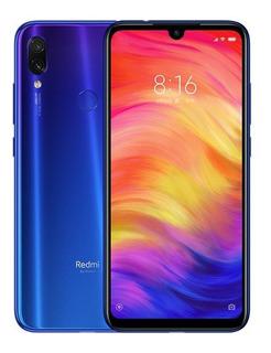 Xiaomi Redmi Note 7-128g-4g Ram Azul Global+capa+brinde