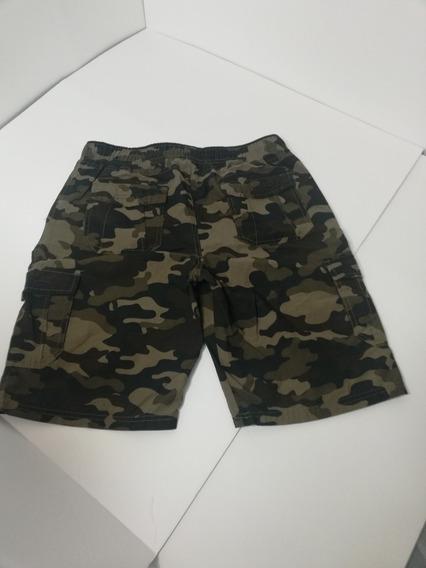 Short Bermuda Camo Xl Niño Militar Univibe
