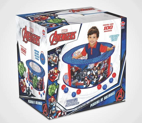 Piscina De Bolinhas Infantil Avengers - Lider 2298