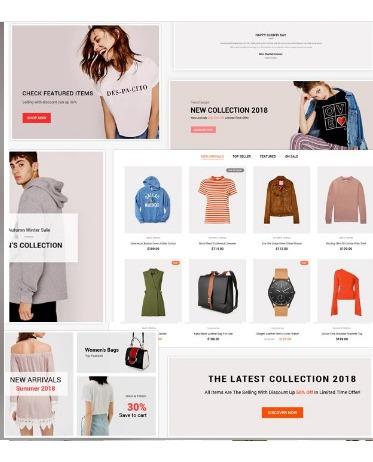 Imagem 1 de 4 de Adiva - Ecommerce Wordpress Theme  Moda Etc