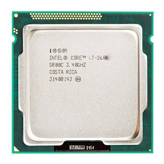 Processador Intel Core I7-2600 4 Núcleos Quad Core