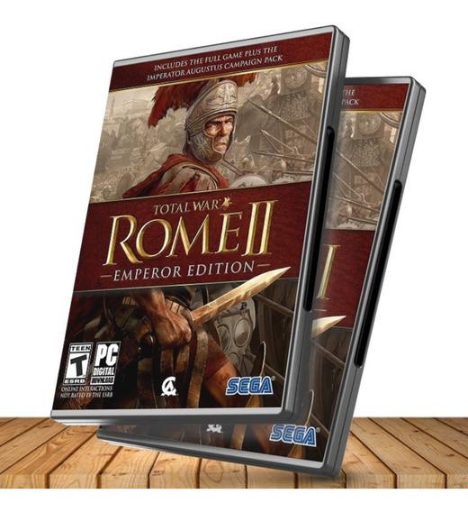 Random Steam Key + Roma 2 Total War Edición Emperador + Expansiones - Pc Windows + Regalo