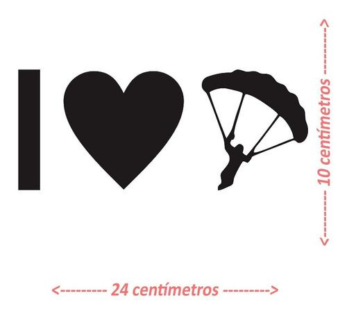 Adesivo Paraglider Paramotor Parapente Voo Duplo 5