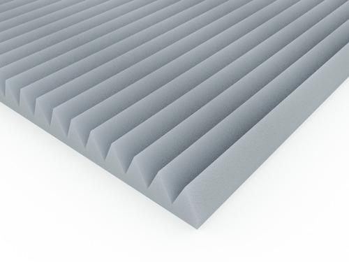 Panel Acustico Ignifugo 61x61cm X 30mm Alpine  Gris Perla