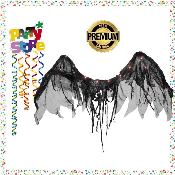 Party Store- Ala Angel Caido Led Cotillon Halloween
